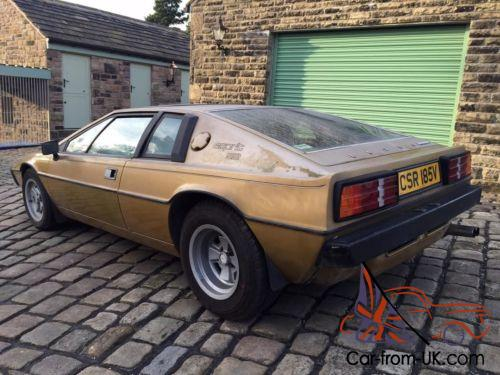1979 lotus esprit s2 low mileage barn find last used in 2005 and stored since. Black Bedroom Furniture Sets. Home Design Ideas