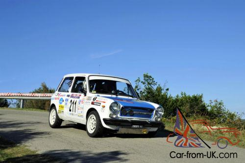 1977 AUTOBIANCHI A112 ABARTH 70hp - Trofeo Group 2 Rally Spec LHD