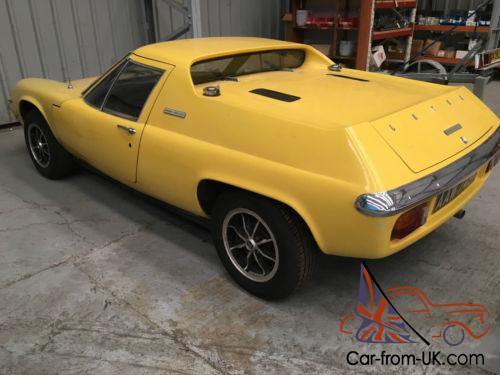 1972 LOTUS EUROPA TWIN-CAM FOR LIGHT RESTORATION