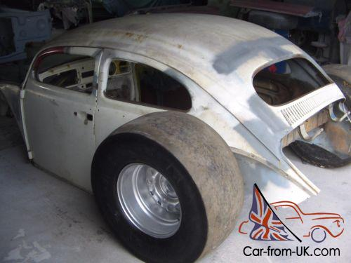 Clic 1960 Vw Beetle Choptop Project Ratrod Drag Car In Qld Photo