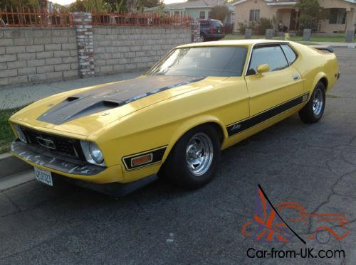 1973 ford mustang mach 1 fastback. Black Bedroom Furniture Sets. Home Design Ideas