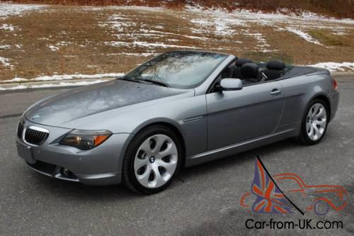 2005 bmw 6 series 645ci 2dr convertible. Black Bedroom Furniture Sets. Home Design Ideas