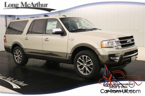 2017 ford expedition el king ranch 4x4 suv navigation msrp. Black Bedroom Furniture Sets. Home Design Ideas