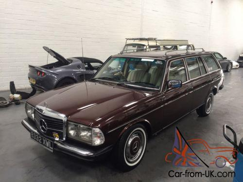 Fully Restored Mercedes W123 Wagon Estate 230te Automatic 100 Photos
