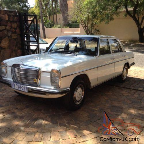 Mercedes benz w115 280 six cylinder 12 months mot for Mercedes benz w115 for sale