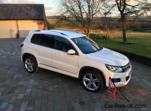 volkswagen tiguan 2 0 tdi bluemotion tech r line dsg. Black Bedroom Furniture Sets. Home Design Ideas