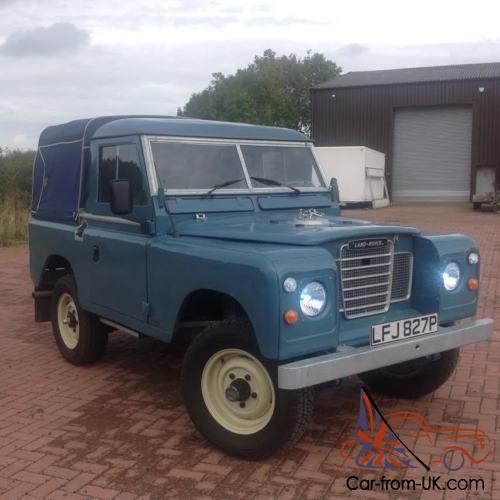 Land Rover Series 3 300TDI TAX FREE 1975 Full Nut & Bolt