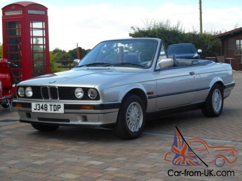 Bmw 318i 1 8 Convertible Cabriolet 1991 Photo