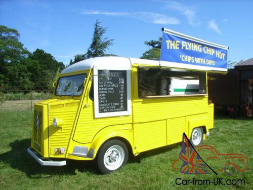 Citroen H Y Van 1972 Catering Conversion Street Food Events Excellent Example