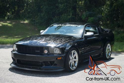 2005 ford mustang saleen supercharged. Black Bedroom Furniture Sets. Home Design Ideas