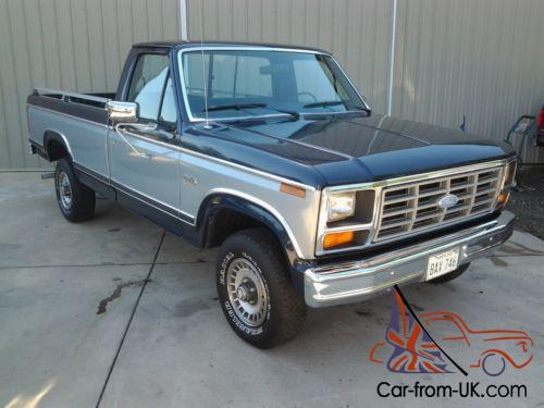 1984 f150 manual transmission fluid