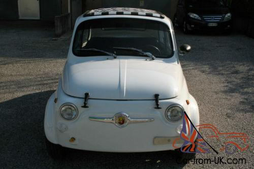 fiat 500 abarth replica with 650 cc tuned engine. Black Bedroom Furniture Sets. Home Design Ideas