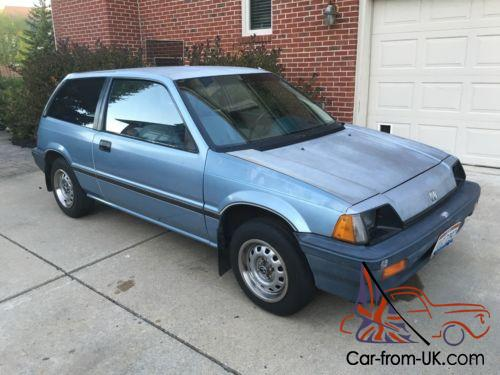 1985 honda civic hatchback