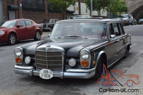 1972 mercedes benz 600 series for 1972 mercedes benz