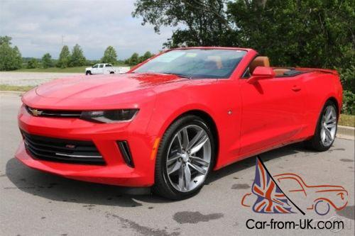 2016 chevrolet camaro 2lt rs convertible performanc exhaust navigation. Black Bedroom Furniture Sets. Home Design Ideas