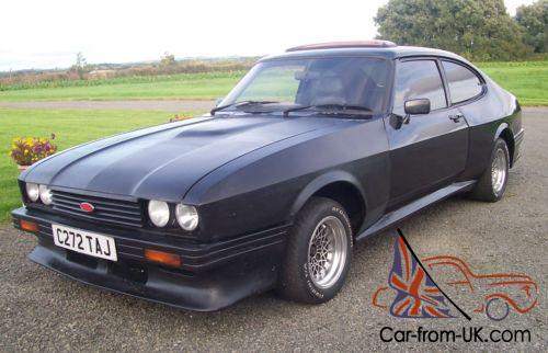 ford capri 2 8 injection special factory black x pack arches nice solid project. Black Bedroom Furniture Sets. Home Design Ideas