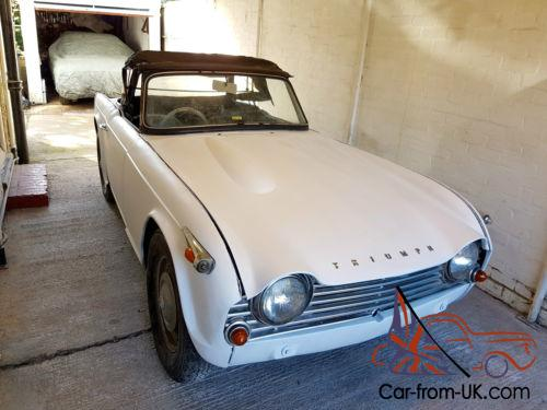 Triumph Tr4a 1963 Restoration Project Uk Car Right Hand Drive No Reserve