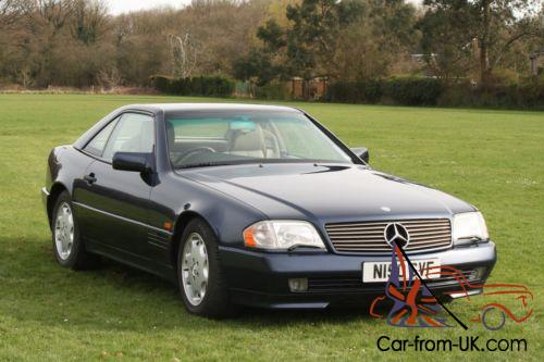 mercedes sl 320 1995 r129 model 68 000 miles superb. Black Bedroom Furniture Sets. Home Design Ideas