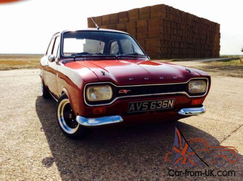 Ford Escort Mk  Pinto Five Speed Originally A  Gt Mint Condition Photo