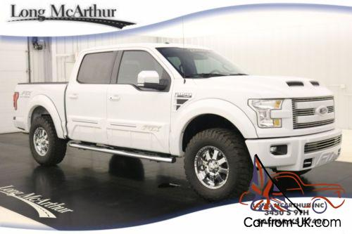 2015 Ford F 150 Lift Kit Ftx Pkg 4x4 Crew Cab Only 491 Miles