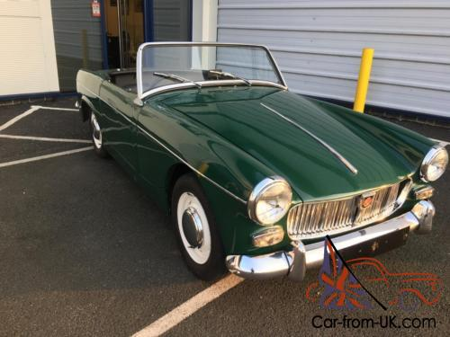 Prices 1964 mg midget