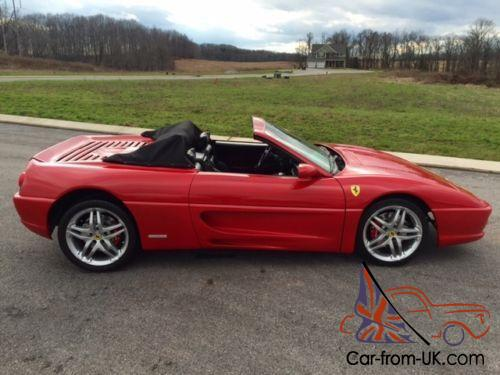 1986 replica kit makes ferrari f355 spider replica. Black Bedroom Furniture Sets. Home Design Ideas