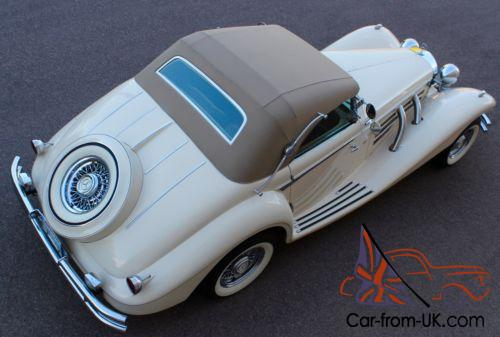 1936 replica kit makes mercedes benz thoroughbred 540k for What country makes mercedes benz cars
