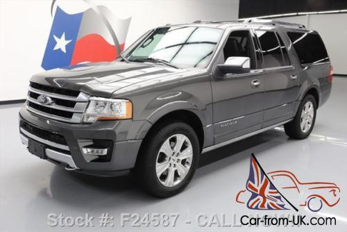 2016 ford expedition platinum el 4x4 ecoboost nav. Black Bedroom Furniture Sets. Home Design Ideas