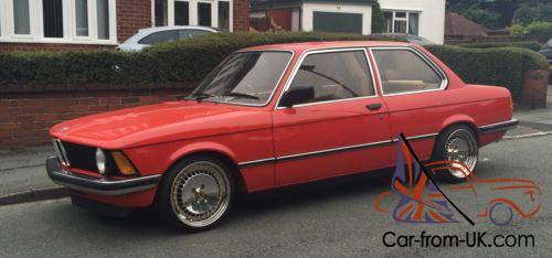 Bmw E21 316 Henna Red 1981 5 Speed Manual