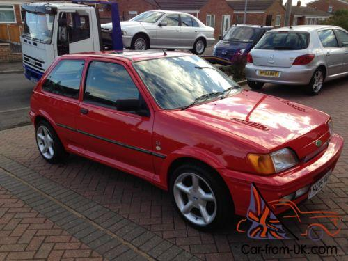 ford fiesta rs turbo red t3 turbo full mot. Black Bedroom Furniture Sets. Home Design Ideas