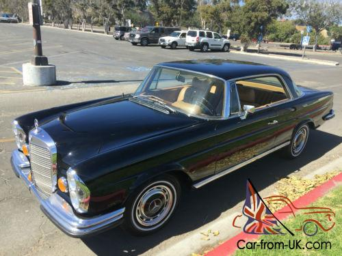 1969 mercedes benz 200 series classic 280se coupe w111 for Classic mercedes benz for sale ebay