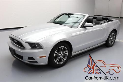2014 ford mustang prem convertible v6 auto leather. Black Bedroom Furniture Sets. Home Design Ideas