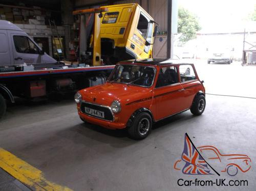 Classic Austin Mini 1275 Modified Swap Px For Mk1 Golf Gti Classic Ford
