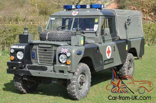 Used Cars For Sale Germany Military: Ex- Military Land Rover Series 3.....2.25 Petrol Right