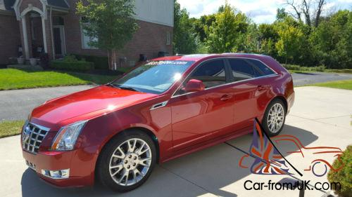 2013 Cadillac Cts 3 6 Wagon Awd Premium Edition Top Of The Line