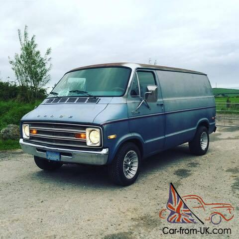 Dodge B100 Custom Van 1977