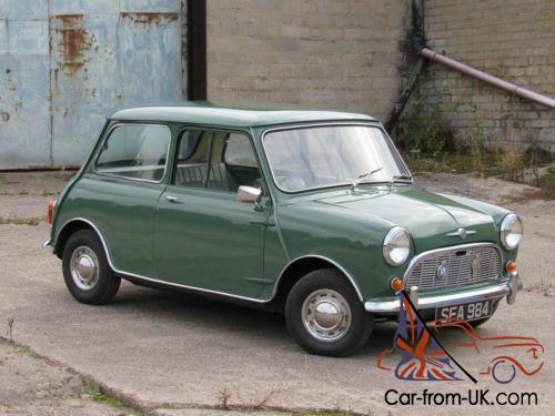 1963 Morris Mini Minor 850cc Same Family From New 57000miles