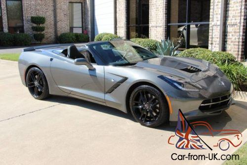 2015 chevrolet corvette stingray 3lt z51 convertible. Black Bedroom Furniture Sets. Home Design Ideas
