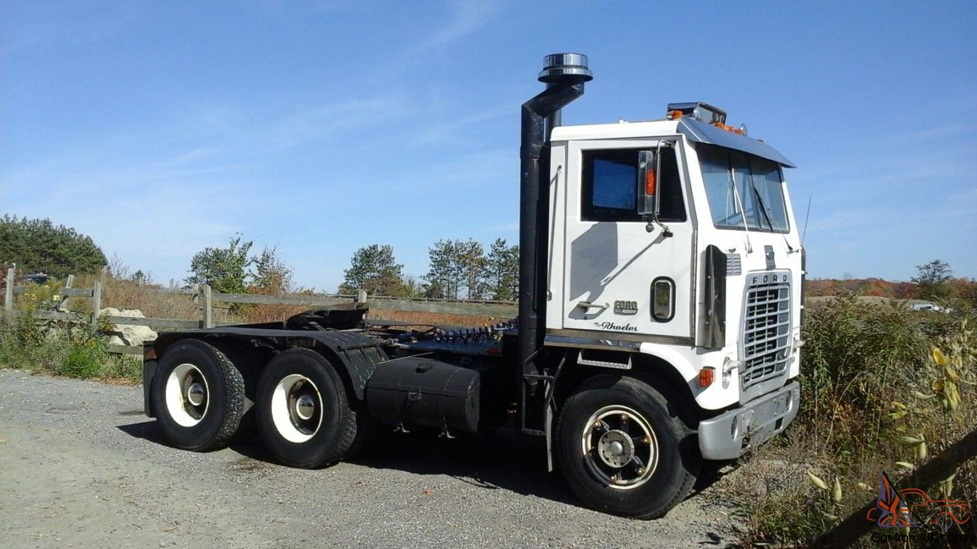 Ford 9000 Cabover Interior : Ford w cabover ebay