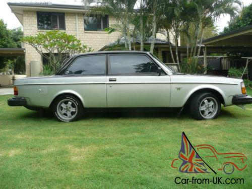 Rare Volvo 242 gt coupe manual
