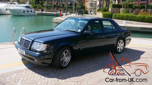 Mercedes E500 Limited 1994 65k Miles 1 Of 500 Made With Porsche