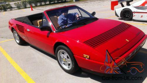 1986 ferrari mondial spider. Black Bedroom Furniture Sets. Home Design Ideas