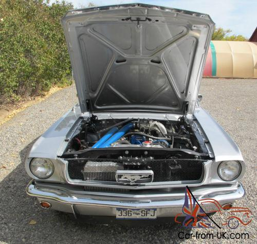 Ford 2 3 Turbo T Bird: 1966 Ford Mustang Turbo Coupe