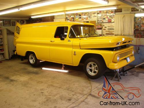 4cd12dcf57 1963 Chevrolet C-10 Panel Truck Photo