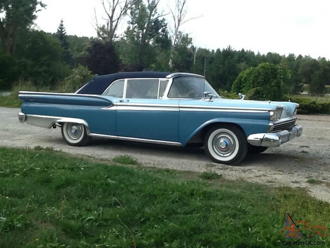 1959 Ford Fairlane 2 Door Ebay
