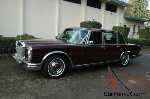 1966 Mercedes Benz 600 Series