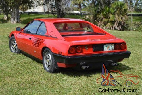1982 ferrari mondial 8 very nice shape. Black Bedroom Furniture Sets. Home Design Ideas