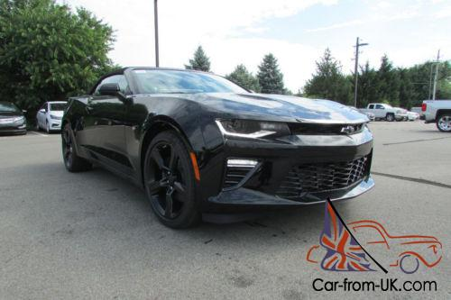 2016 chevrolet camaro 2dr convertible ss w 1ss. Black Bedroom Furniture Sets. Home Design Ideas