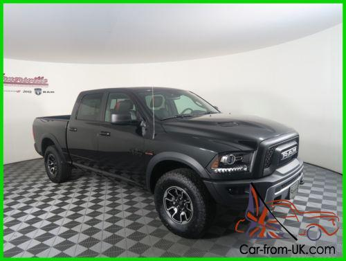 2017 ram 1500 rebel 4x4 5 7l hemi v8 engine crew cab truck. Black Bedroom Furniture Sets. Home Design Ideas