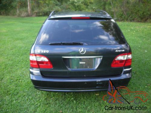 2004 mercedes benz e class 4matic sports wagon for Mercedes benz sport wagon
